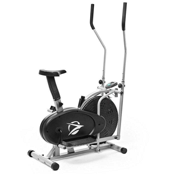 Plasma Fit Elliptical Machine Trainer Bike Fitness Home Gym