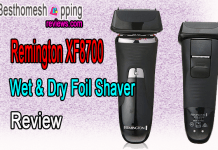Remington XF8700 Wet & Dry Foil Shaver Review