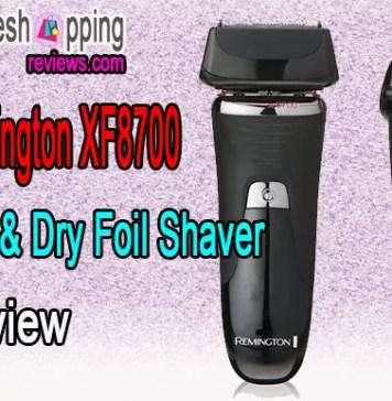 Remington XF8700 Wet & Dry Foil Shaver Review