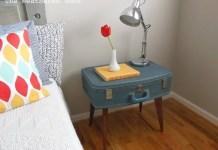 BUILD A DIY SUITCASE SIDE TABLE.