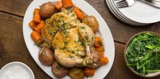 Pressure Cooker Lemon Chicken and Vegetables Recipe