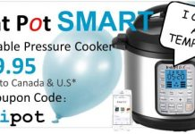 Instant Pot Smart Cooking Series Specifications