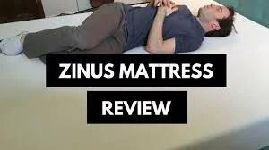 Zinus Green Tea Mattress Review
