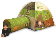 Pacific Play Tents Safari Tent and Tunnel Combo