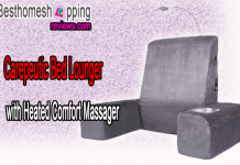 Carepeutic Bed Lounger with Heated Comfort Massager