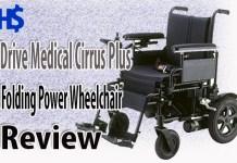 Drive Medical Cirrus Plus Folding Power Wheelchair Review