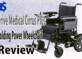 Drive Medical Cirrus Plus Folding Power Wheelchair Review