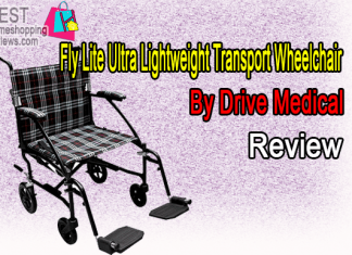 Drive Medical Fly Lite Ultra Lightweight Transport Wheelchair Review