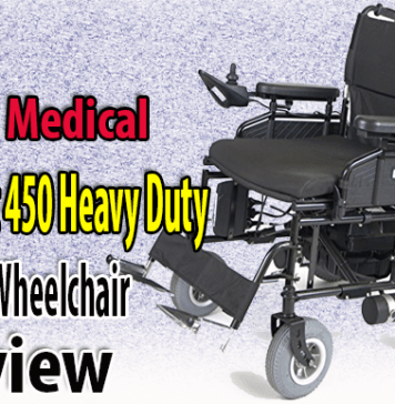 Drive Medical Wildcat 450 Heavy Duty Power Wheelchair Review