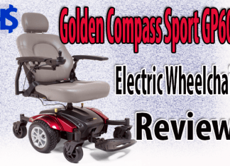 Golden Compass Sport GP605 Electric Wheelchair Review