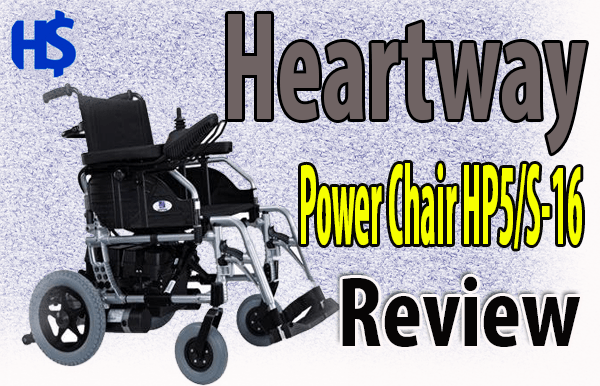 Heartway Power Chair HP5/S-16 Review