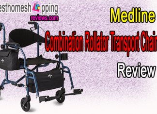 Medline Combination Rollator Transport Chair Review