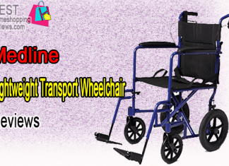 Medline Lightweight Transport Wheelchair Reviews
