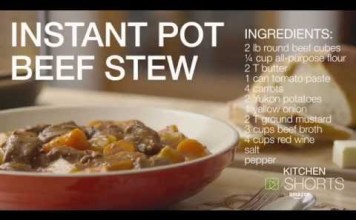 Beef Stew in Instant Pot