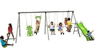 World Of Fun Swing Set