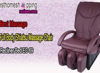 Full Body Shiatsu Massage Chair Recliner Bed EC-69 ByBestMassage