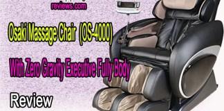 Osaki Massage Chair With Zero Gravity Executive Fully Body, OS-4000