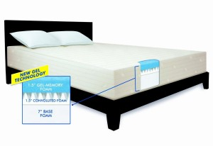 Serta 10 Inch Gel Memory Foam Mattress Bestter Choices Bestter Living