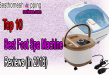 Top 10 Best Foot Spa Machine Reviews (In 2018)