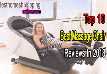 Top 10 Best Massage Chair Reviews In 2018