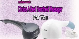 Top 6 Best Handheld Massager Reviews