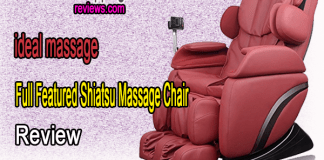 ideal massage Full Featured Shiatsu Massage Chair Review