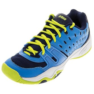 Best Shoes For Plantar Fasciitis By Prince T22 Cool Blue/Lime