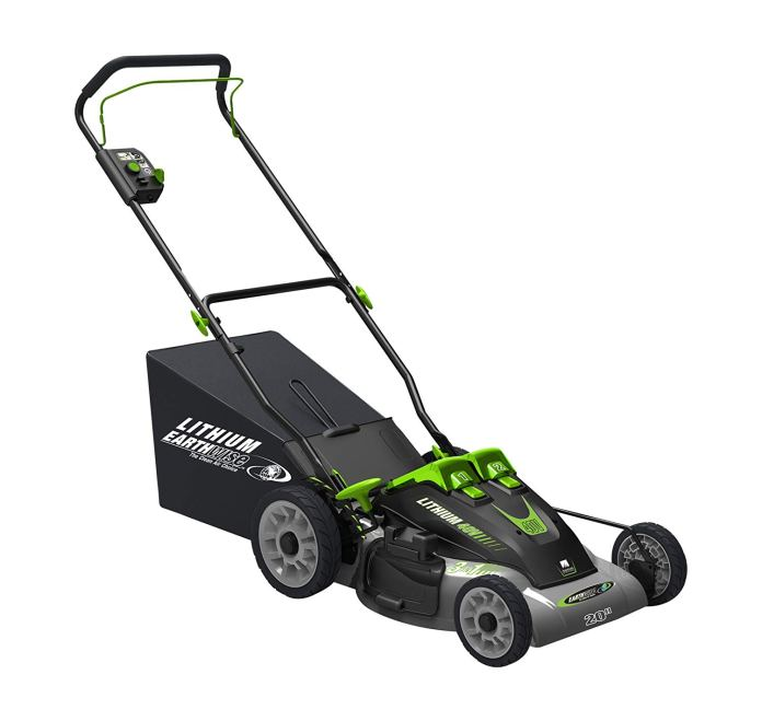 Best Electric Lawn Mower 2018 By Earthwise 60420