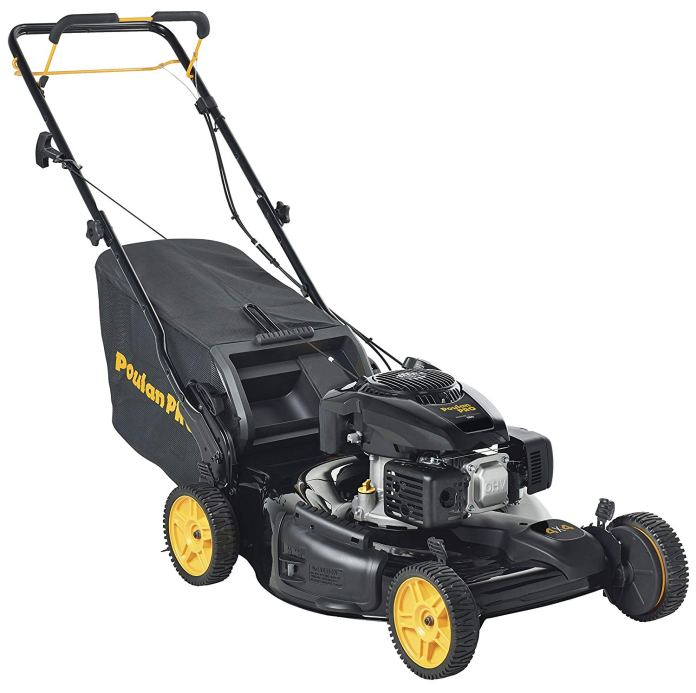 Best Gas Lawn Mower 2018 By Poulan Pro 961420128 PR675AWD