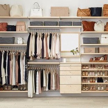 Amazing Closet Room Design Ideas For The Beauty Of Your Storage35