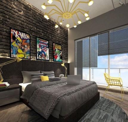 Attractive Teenage Bedroom Decorating Ideas For Comfort In Their Activities08