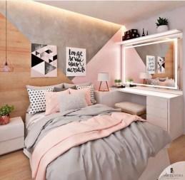 Attractive Teenage Bedroom Decorating Ideas For Comfort In Their Activities39