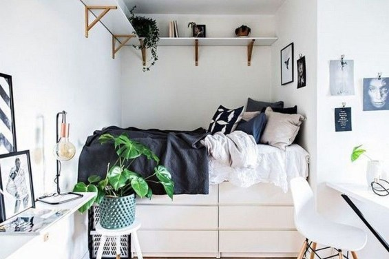 Awesome Bedroom Storage Ideas For Small Spaces08