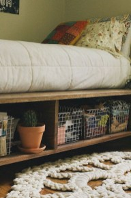 Awesome Bedroom Storage Ideas For Small Spaces13