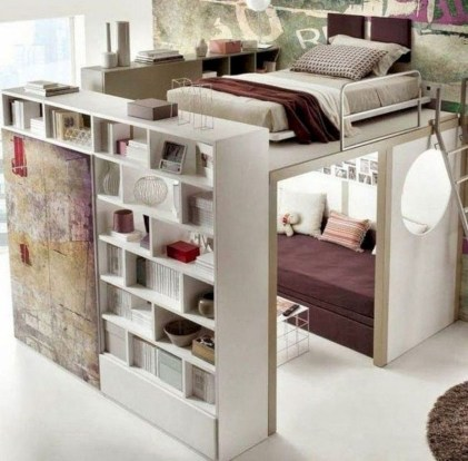 Awesome Bedroom Storage Ideas For Small Spaces27