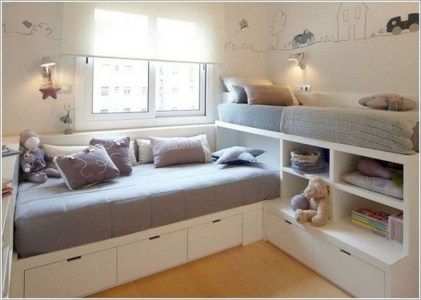 Awesome Bedroom Storage Ideas For Small Spaces29