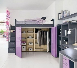 Awesome Bedroom Storage Ideas For Small Spaces34