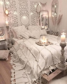 Beautiful Boho Rustic And Cozy Bedrooms05