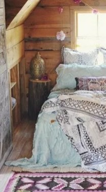 Beautiful Boho Rustic And Cozy Bedrooms19