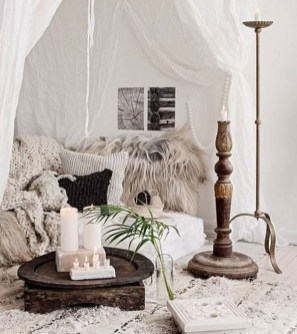 Beautiful Boho Rustic And Cozy Bedrooms45