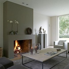 Beautiful Modern Fireplaces For Winter Design Ideas15