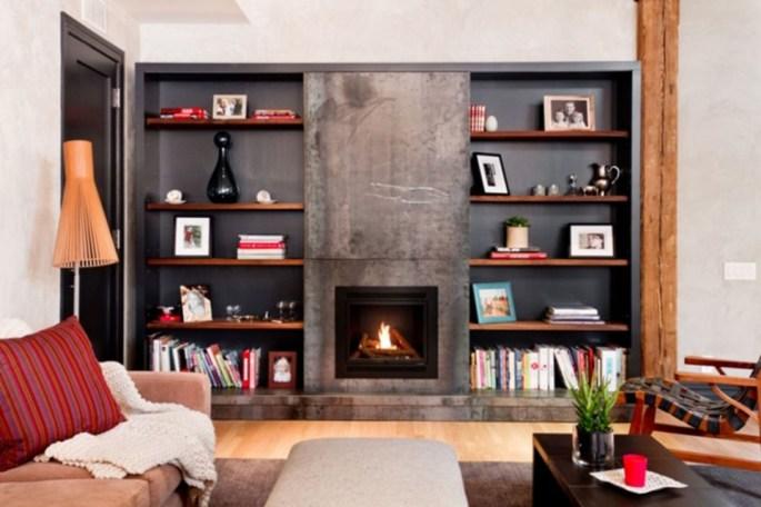 Beautiful Modern Fireplaces For Winter Design Ideas19