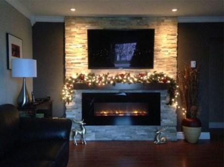 Beautiful Modern Fireplaces For Winter Design Ideas36