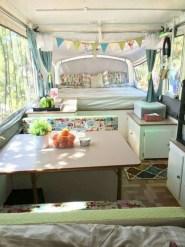 Best Wonderful Rv Camping Living Decor Remodel21