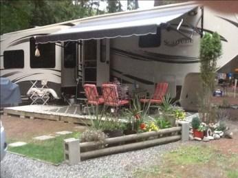 Best Wonderful Rv Camping Living Decor Remodel26