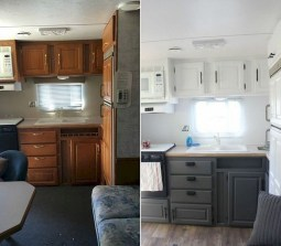 Best Wonderful Rv Camping Living Decor Remodel31