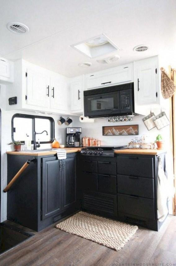 Best Wonderful Rv Camping Living Decor Remodel34