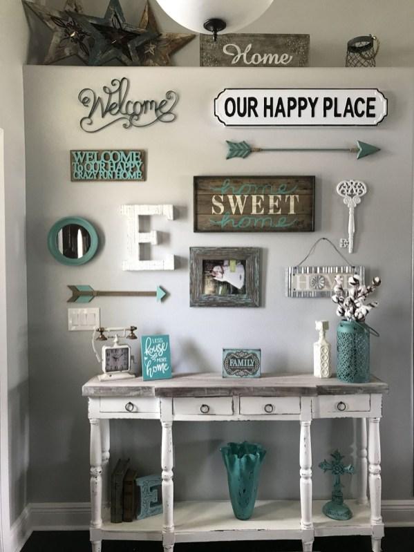 Creative Wall Decor For Pretty Home Design Ideas33