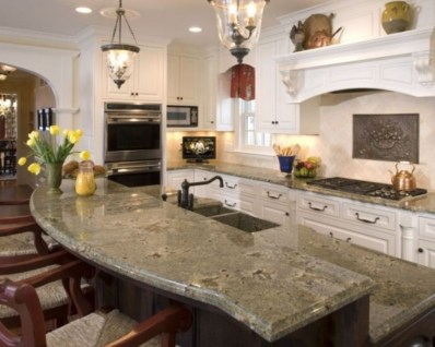 Fabulous Kitchen Island Decorating Ideas To Become A Comfortable Cooking Place For You12