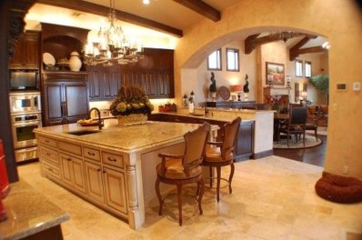 Fabulous Kitchen Island Decorating Ideas To Become A Comfortable Cooking Place For You13